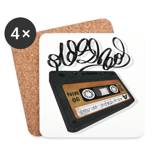 Oldschool Mixtape 507 - Glasbrikker (sæt med 4 stk.)