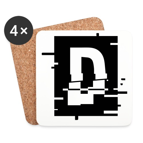 small_logo_white - Underlägg (4-pack)