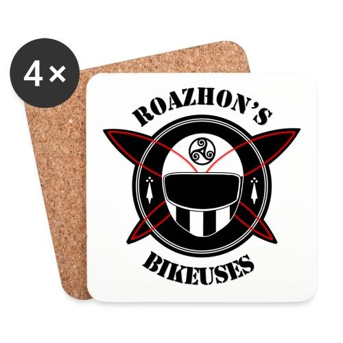 Roazhon's Bikeuses Rennes - Dessous de verre (lot de 4)