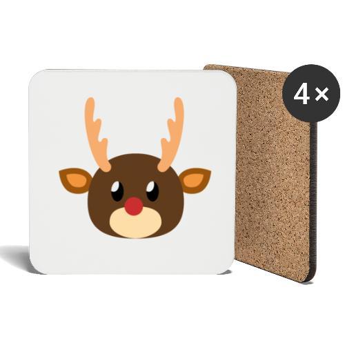 Rentier »Rudy« - Coasters (set of 4)
