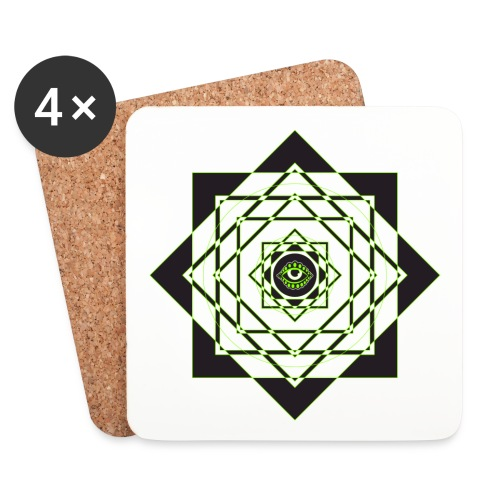 star pattern png - Coasters (set of 4)