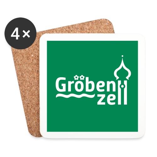 Groebenzell-Logo_1c - Untersetzer (4er-Set)