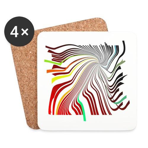 Spirale 01 - Untersetzer (4er-Set)