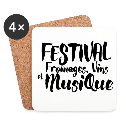 Festival FVM - Dessous de verre (lot de 4)