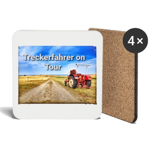 Treckerfahrer on Tour - Untersetzer (4er-Set)