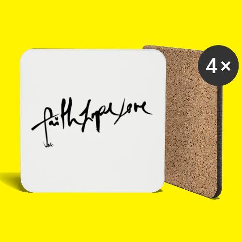 Faith Hope Love - Coasters (set of 4)