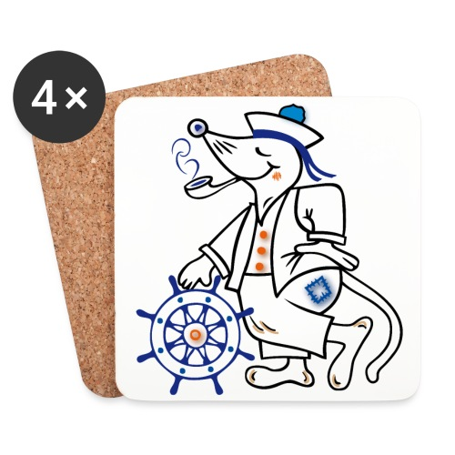 Matrose, maritim, Ahoi - Untersetzer (4er-Set)
