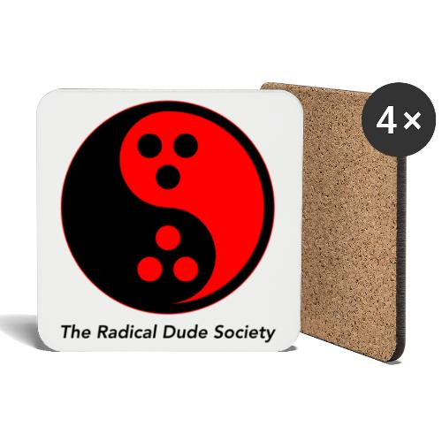 The Radical Dude Society - Untersetzer (4er-Set)