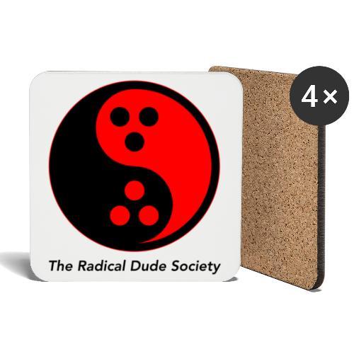 The Radical Dude Society - Untersetzer (4er-Set)