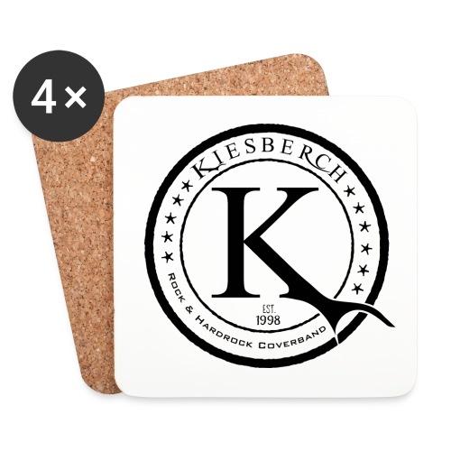 KB K-sign 03a, schwarz - Untersetzer (4er-Set)