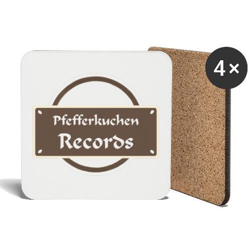 Pfefferkuchen Records Label - Untersetzer (4er-Set)