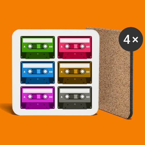 Kassetter - Underlägg (4-pack)