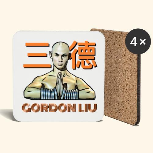 Gordon Liu - San Te Monk (Official) 6 prikker - Glasbrikker (sæt med 4 stk.)