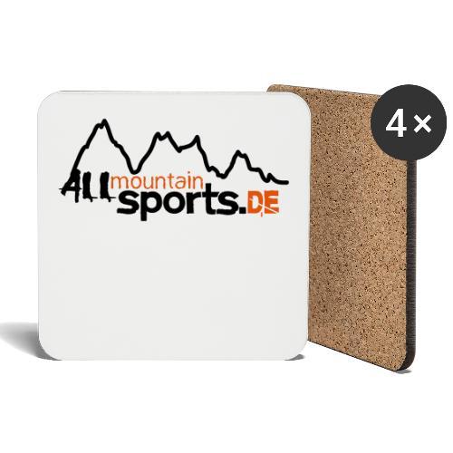 allmountainsportsde Profil - Untersetzer (4er-Set)