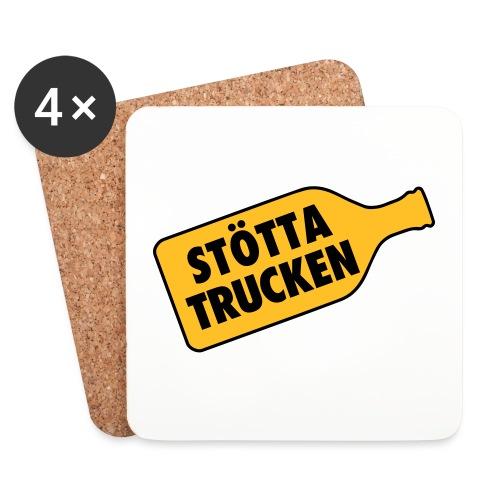 stotta trucken - Underlägg (4-pack)