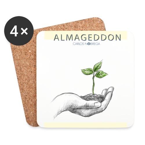 ALMAGEDDON PLANTA REBIRTH jpg - Posavasos (juego de 4)