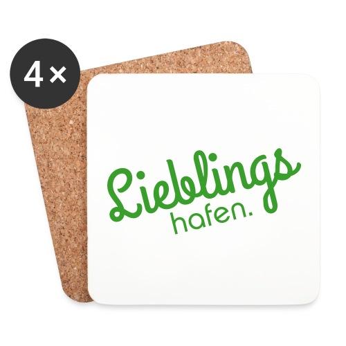 Lieblings Hafen - Untersetzer (4er-Set)