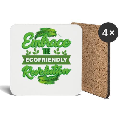 Embrace Eco Friendly Revolution - Coasters (set of 4)