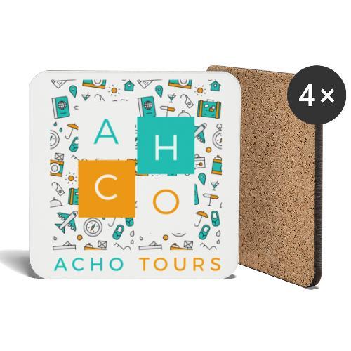 """ACHOtours """"fun"""" - Posavasos (juego de 4)"""