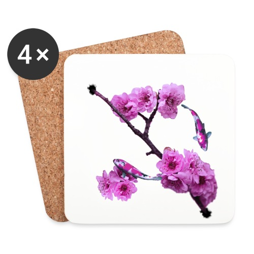Flower Back - Underlägg (4-pack)