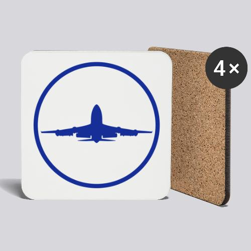 IVAO (Blue Symbol) - Coasters (set of 4)