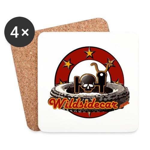 logo wildsidecar 60s gif - Dessous de verre (lot de 4)