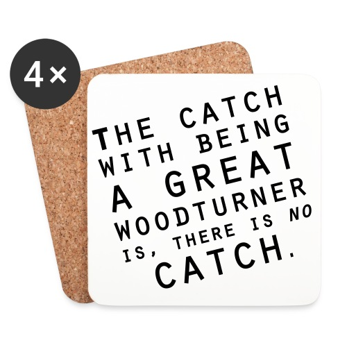 No Catch Small - Coasters (set of 4)