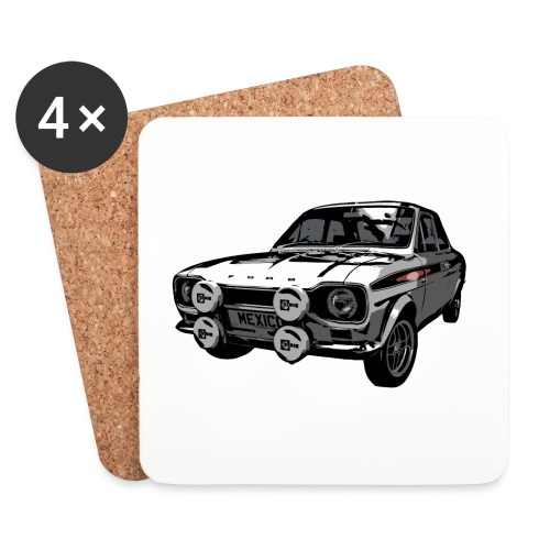 Mk1 Escort - Coasters (set of 4)