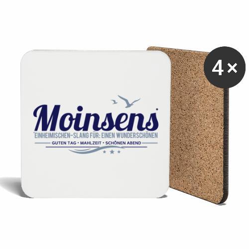 MOINSENS - Einheimischen-Slang - Untersetzer (4er-Set)
