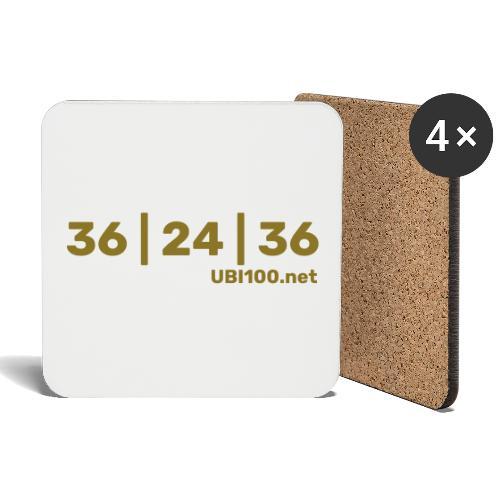 36 | 24 | 36 - UBI - Coasters (set of 4)