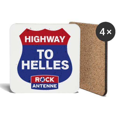 ROCK ANTENNE - Highway to Helles - Untersetzer (4er-Set)