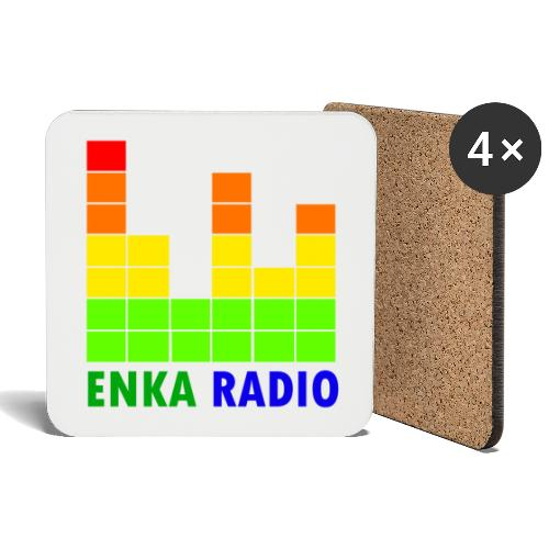 Enka radio - Dessous de verre (lot de 4)
