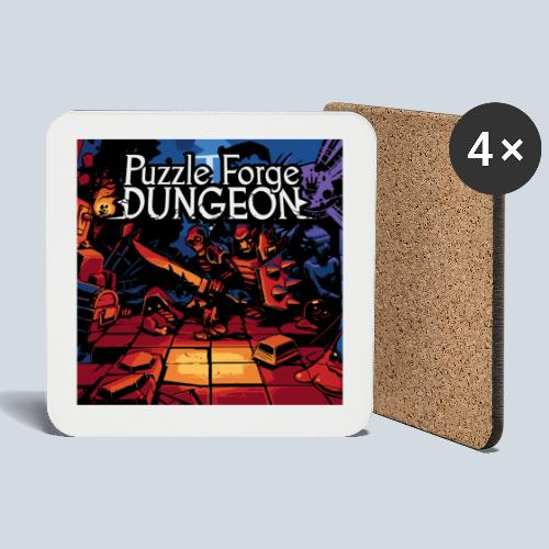 Puzzle Forge Dungeon BoxArt - Dessous de verre (lot de 4)