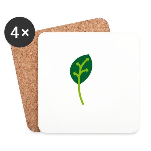 Adveris Verde - Sottobicchieri (set da 4 pezzi)