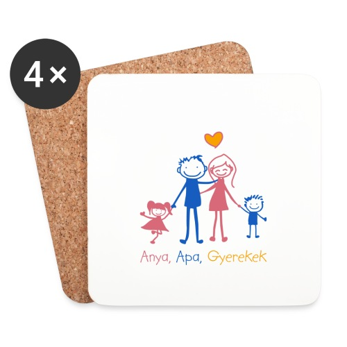 Anya Apa Gyerekek - Coasters (set of 4)