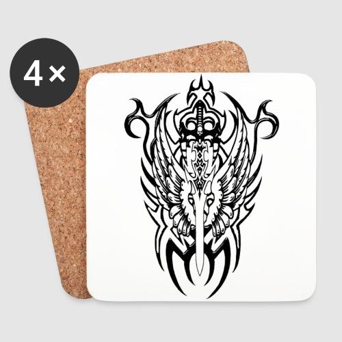Tattoo Style - Untersetzer (4er-Set)