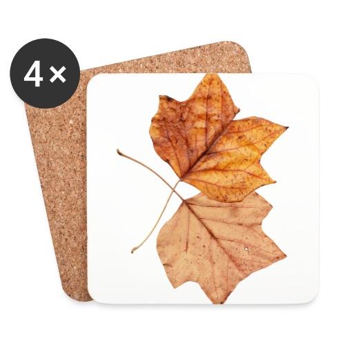 Blätter - Untersetzer (4er-Set)