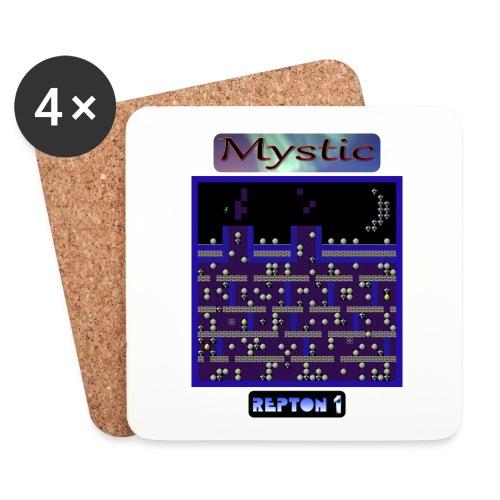 w-rep1-mystic6 - Coasters (set of 4)