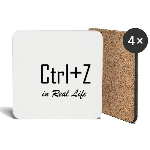 Ctrl+z irl - Dessous de verre (lot de 4)