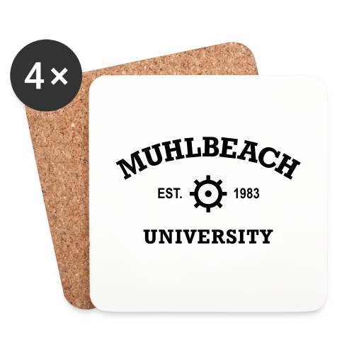 Muhlbeach University - Dessous de verre (lot de 4)