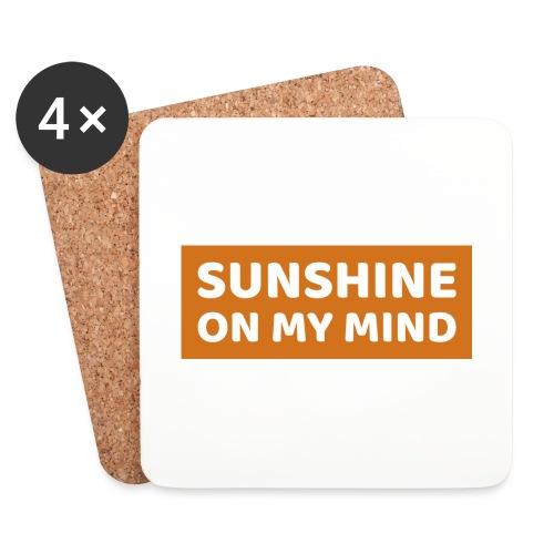 Słońce w mojej głowie - Podstawki (4 sztuki w zestawie)