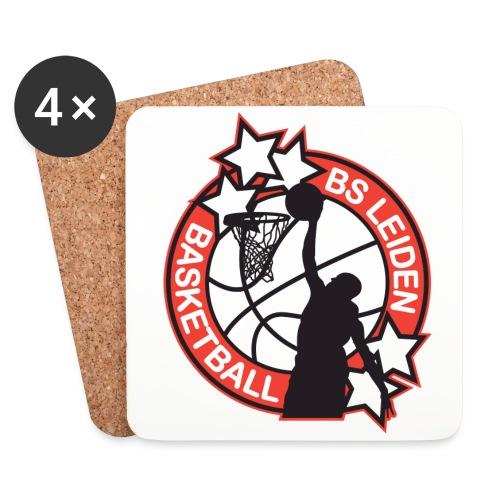 BSL logo raster red 400pc - Onderzetters (4 stuks)