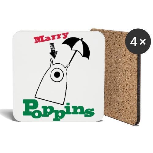 Marry Poppins - Untersetzer (4er-Set)