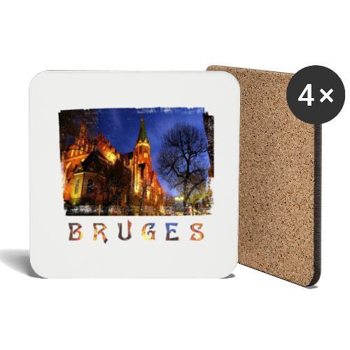 Bruges | By Night - Onderzetters (4 stuks)