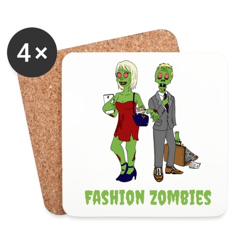 Fashion Zombie - Coasters (set of 4)