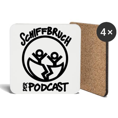 Schiffbruch - Der Podcast - Untersetzer (4er-Set)