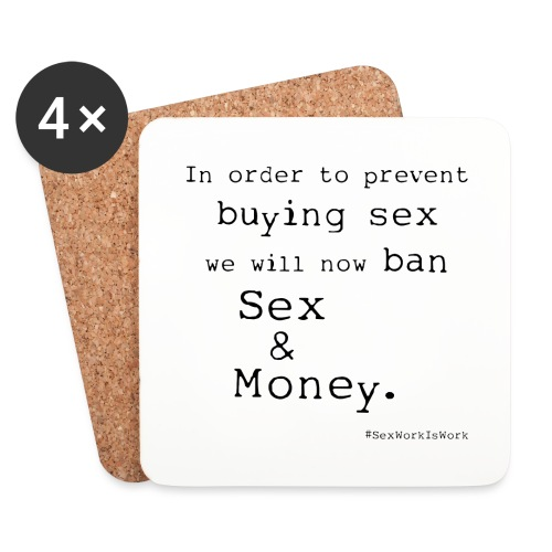 Sex and Money - Coasters (set of 4)