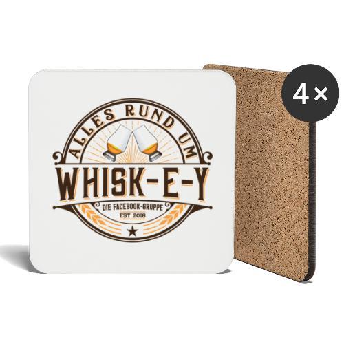 Alles rund um Whisk-e-y - Untersetzer (4er-Set)