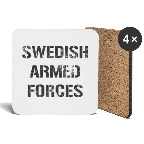 SWEDISH ARMED FORCES - Rugged - Underlägg (4-pack)