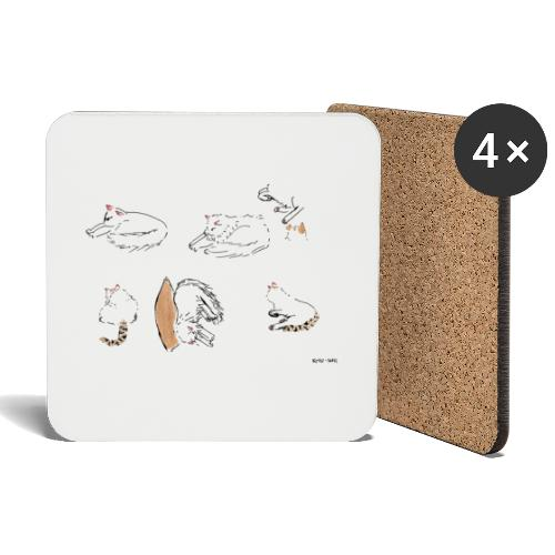 Cat Company - Coasters (set of 4)